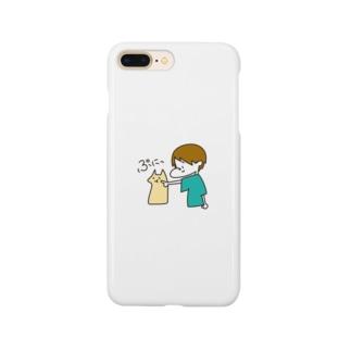 ネコと少女 Smartphone cases