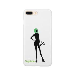 星座 射手座 Smartphone cases