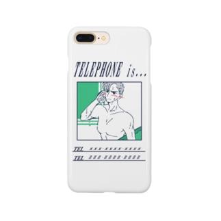 電話の相手(素直になれなくて編) Smartphone cases