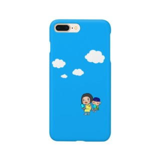 青い空! Smartphone cases