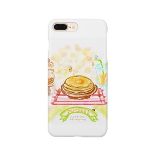 ハッピー☆ふわふわパンケーキ Smartphone cases