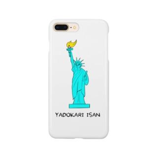 ヤドカリ遺産 自由の女神 Smartphone cases