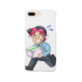 配達人の拓志(タクシ)君 Smartphone cases