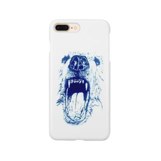 クマさんのお口 Smartphone cases