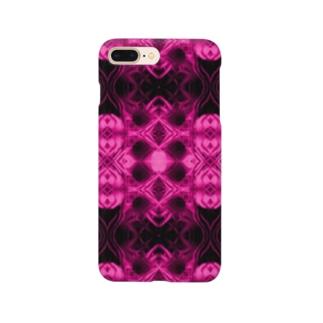 Spices Invader pink Smartphone cases
