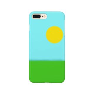 天気が良すぎる空 Smartphone cases