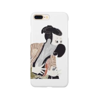 ヨウム 浮世絵 Smartphone cases
