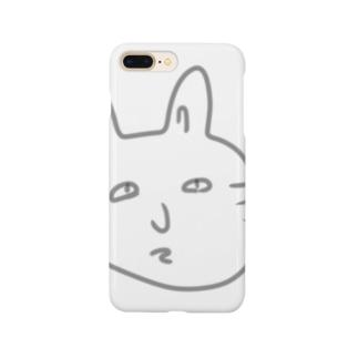 おじいちゃんが描いた猫 Smartphone cases