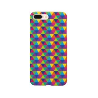 Yamachan0201のレインボー Smartphone cases
