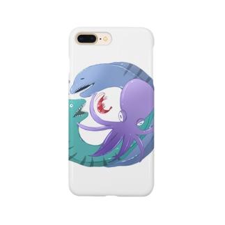 ウツボとエビとタコ Smartphone Case