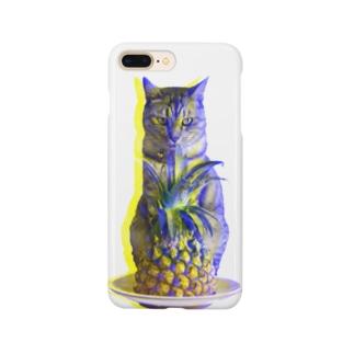 ほごにゃんパイにゃポー2020・夏 Smartphone cases