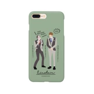 zakkaYOSHIMOTO アインシュタイン Smartphone cases