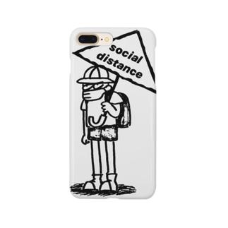 ソーシャルディスタンス Smartphone cases