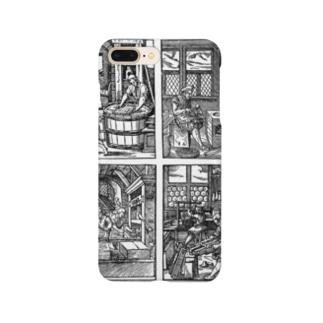 昔々の活版印刷 Smartphone cases