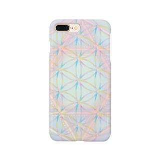 Rainbow Flower of Life & Hexagram Smartphone cases