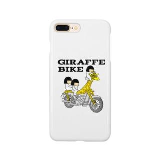 🛵giraffe bike🦒 全身タイツのきよみ Smartphone cases