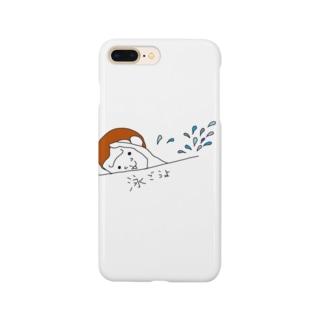 ハッピーゴリラ 泳ごうよ Smartphone cases