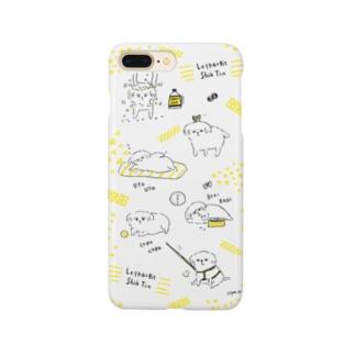 脱力系シーズーの1日  Smartphone cases