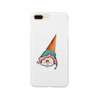 otsumiのアイスこぼれちゃった Smartphone cases