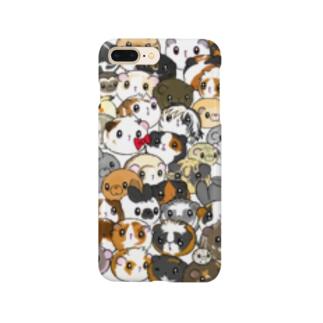 モル大集合 Smartphone cases