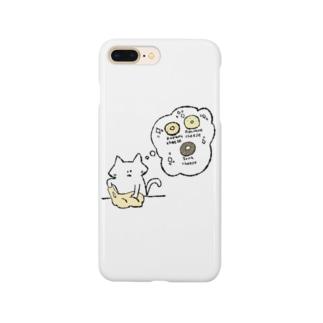 パン生地こねこネコ Smartphone cases