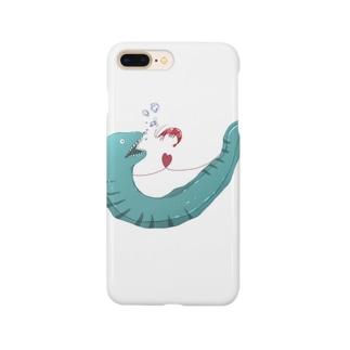 うつぼとえびちゃん Smartphone cases
