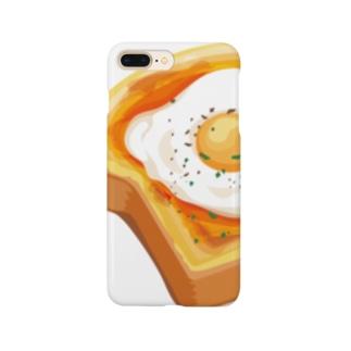 卵トースト Smartphone cases