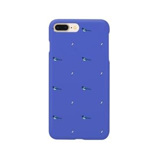 カササギ模様 Smartphone cases