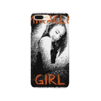 ミラクルガール(MiracleGirl_1) Smartphone cases