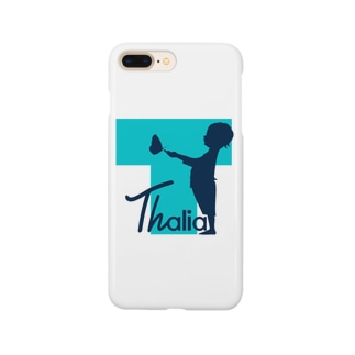 Thalia スマホケース (White) Smartphone cases
