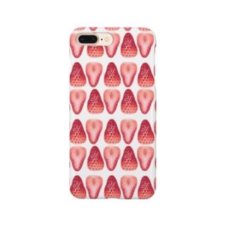 苺の寒天寄せ Smartphone cases