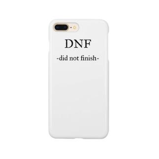 ランニング好きのお店のDNF 途中棄権 Smartphone cases