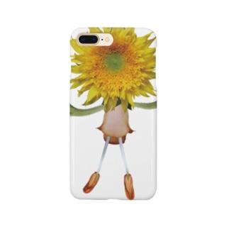 flower dolls ヒマワリ Smartphone cases