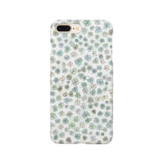 クローバーいっぱい♪ Smartphone cases
