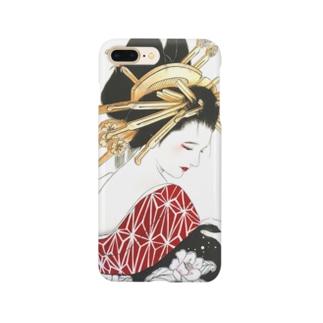 花魁 Smartphone cases