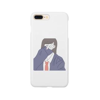 自撮りJKちゃん Smartphone cases