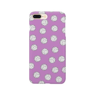 バレーボール Purple Smartphone cases