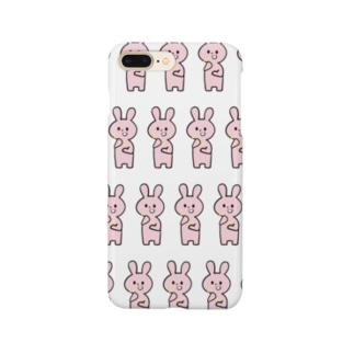 量産型うさぎ Smartphone cases