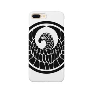 オオワシ家紋 Smartphone cases