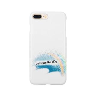 止まない雨は無いシリーズ Smartphone cases