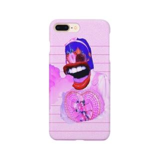 うるさい女 Smartphone cases