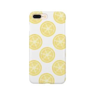 シロップ漬けレモン Smartphone cases