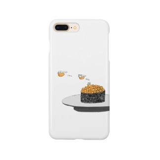 ぷくぷくイクラちゃん Smartphone cases