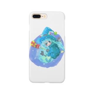 魔法少女ゆるmiku with 使い魔にゃんズ Smartphone cases