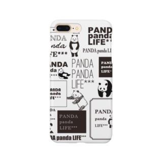ロゴロゴ パンダ Smartphone cases