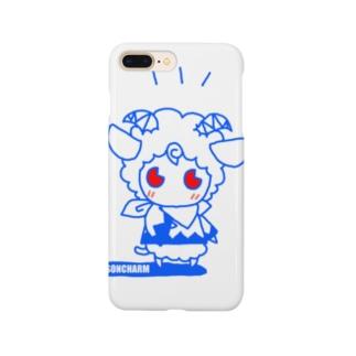 ヒツジのメルメル Smartphone cases
