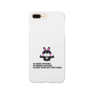 3Cs[三密を避けよう] Smartphone cases