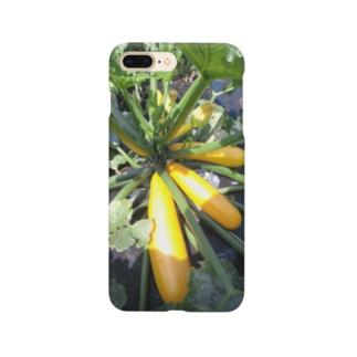 ズッキーニ・イエロー① Smartphone cases