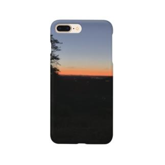 妙義の朝焼け Smartphone cases