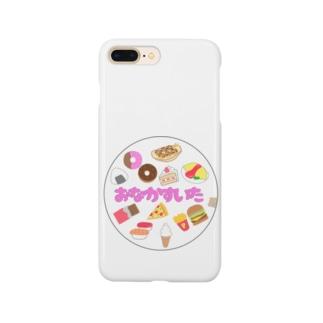 腹ペコクマちゃん Smartphone cases